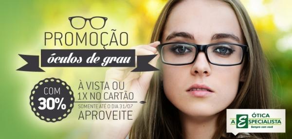 4d0b153b417f3 Promoção Óculos de Grau e Solares